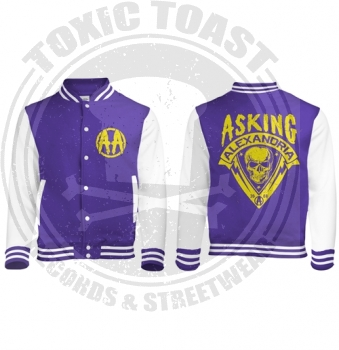 Asking Alexandria - Skull Shield - Jacke - Gr.L