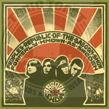 The Baboon Show ‎– People's Republic Of The Baboon Show - LP