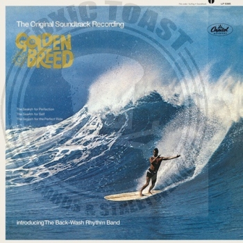 The Back-Wash Rhythm Band ‎– The Golden Breed - LP