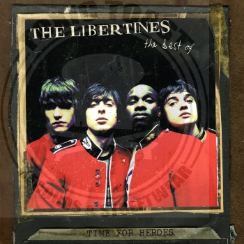 The Libertines ‎– Time For Heroes (The Best Of The Libertines) - LP