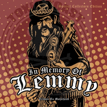 Various ‎– In Memory Of Lemmy, Tribute To Motörhead - LP
