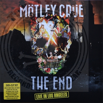 Mötley Crüe - The End - 2LP+DVD