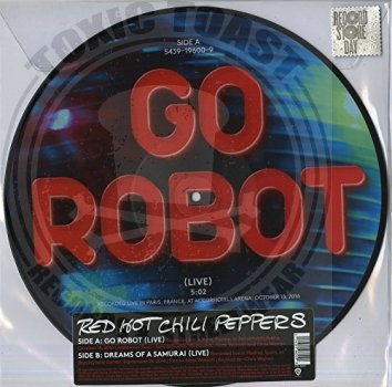 Red Hot Chili Peppers - Go Robot - 12""