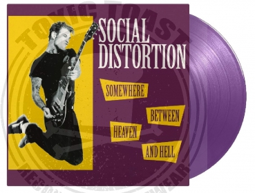 Social Distortion - Somewhere Between Heaven And Hell - LP