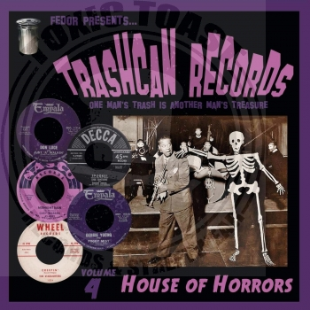 Various - Trashcan Records Volume 4: House Of Horror - 10""
