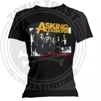 Asking Alexandria - Straight Outta Yorkshire - Girl Shirt - Gr.S