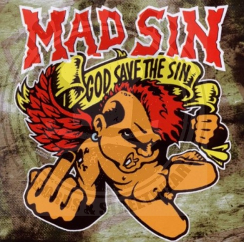 Mad Sin - God Save The Sin - CD