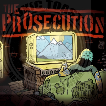 The Prosecution - At The Edge Of The End - LP