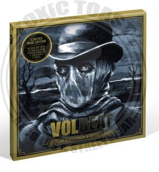 Volbeat - Outlaw Gentlemen & Shady Ladies - CD Book