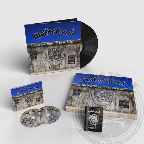 Motörhead - Louder Than Noise... Live in Berlin - Limited Box Set