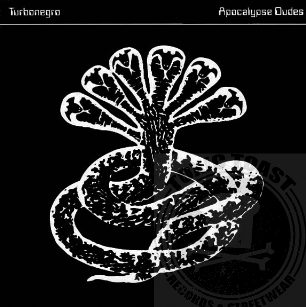 Turbonegro ‎– Apocalypse Dudes - Limited White LP